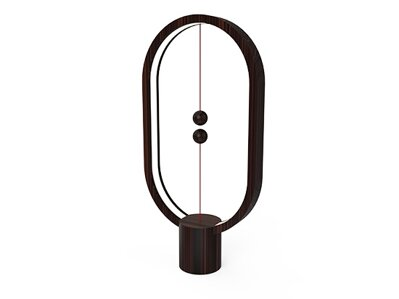 Heng Balance Lamp Ellipse - Dark wood