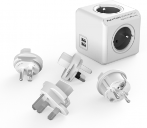 PowerCube ReWirable USB - Sivá